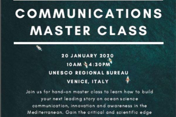 Masterclass sulla Comunicazione Scientifica