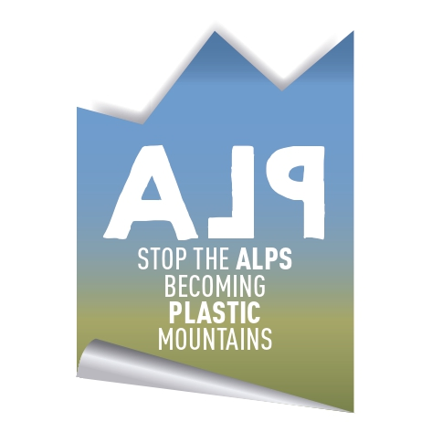 VOTATE IL PROGETTO Stop the ALPs becoming Plastic Mountains Italy